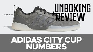 Relativo mundo En necesidad de  UNBOXING+REVIEW - adidas City Cup X Numbers - YouTube