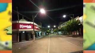 Ruas da cidade iluminadas graças ao trabalho da secretaria