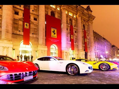 Ferrari, debutto alla Borsa di Milano - Un breve Clip 2016