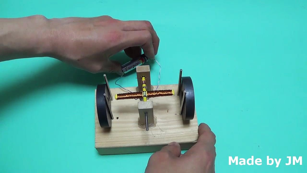 how to make a dc motor