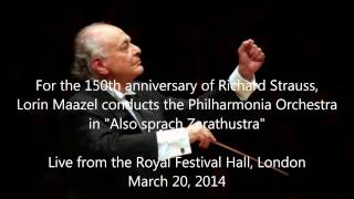 Richard Strauss: Also sprach Zarathustra - Lorin Maazel (HD 1080p - Audio video)