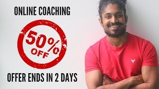 50% Discount on Online Coaching