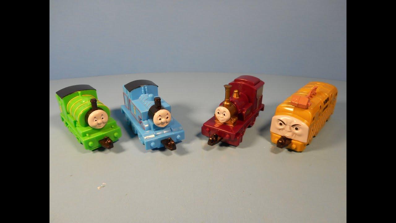 2000 THOMAS and THE MAGIC RAILROAD SET OF 4 SUBWAY KID'S ...