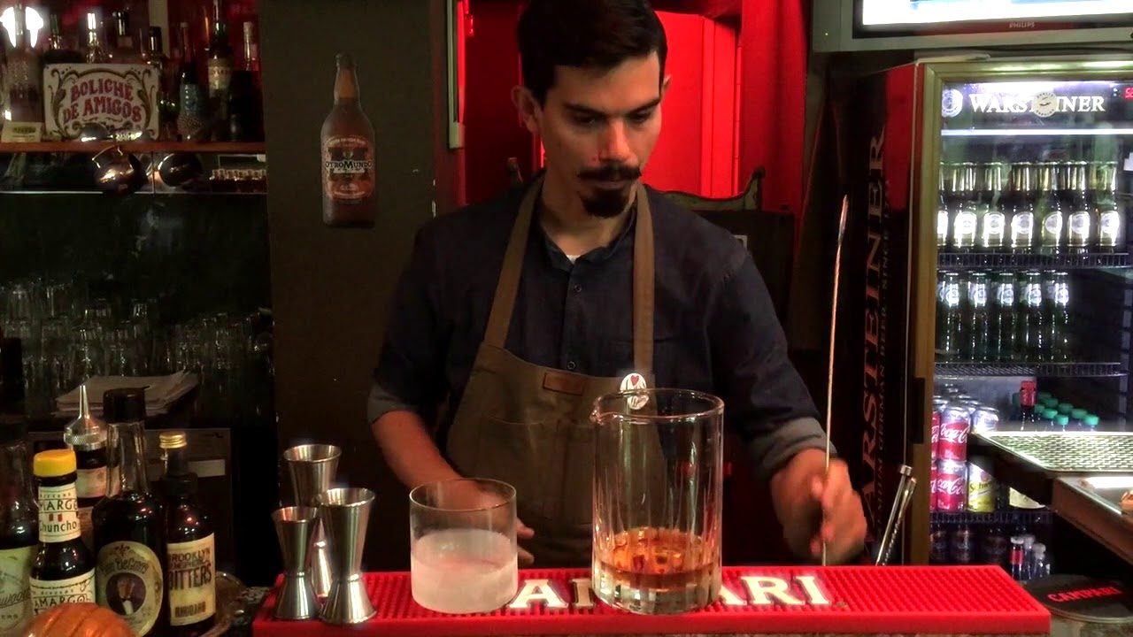 Old Fashioned at Salon Berlin in Palermo, Buenos Aires   YouTube