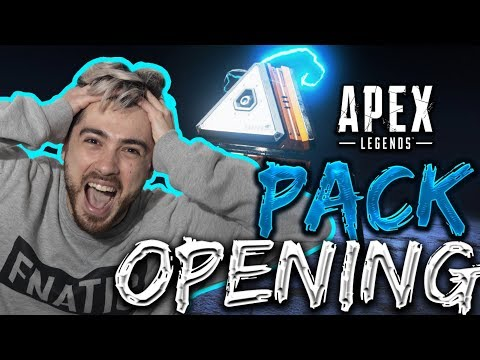 APEX LEGENDS PACK OPENING! (100+ PACKS) | 20 BOMBE DI SQUADRA!