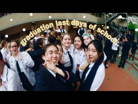 Last day of highschool/ Graduation day in Australia (private school)