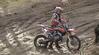 MOTORCROSS MAC HARSKAMP EERSTE CLUB WEDSTRIJD 10-11-2013 ( DEEL 2 )