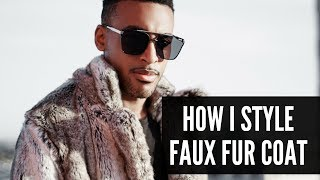 How I Style | Faux Fur Coat | Perfect For Winter