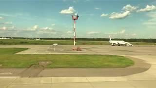 JAL モスクワ・ドモジェドヴォ空港を離陸する日本航空 B787-8