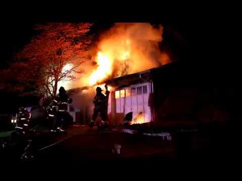 HOUSE FIRE IN HAUPPAUGE NY