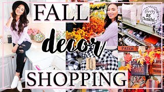 FALL 2018 SHOP WITH ME AT HOBBY LOBBY FOR FALL DECOR IDEAS! | Alexandra Beuter