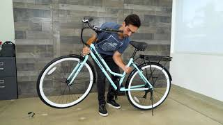 Unboxing & Assembly Electric Bike City & Beach Cruiser - Swagtron EB9