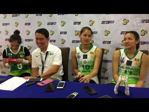 Graduating DLSU Lady Spikers want to make the most out of their last year with De Jesus