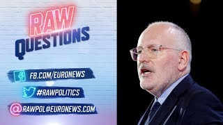 European Elections 2019:  Live interview with Frans Timmermans Video