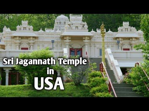 Jagannath Temple in USA