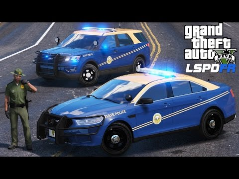 GTA 5 LSPDFR Police Mod 386 | West Virginia State Police Special