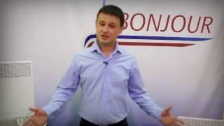 Видеообзор электрических конвекторов Bonjour
