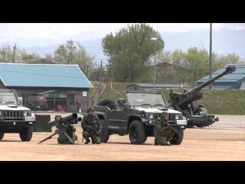 最新 ど迫力!陸上自衛隊 模擬戦闘訓練