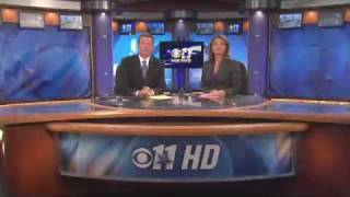 KTVT CBS 11 News at 10 HD Open