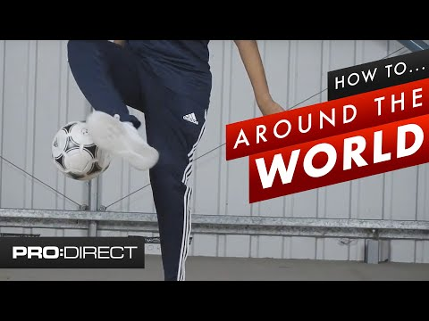 How To Do Around The World Football Trick | Freestyle Skills Tutorial