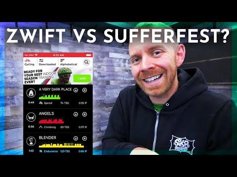 Zwift vs Sufferfest