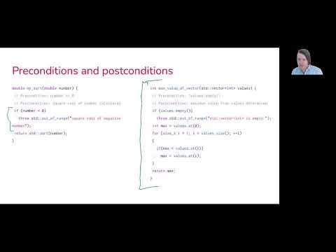 0202: Preconditions / postconditions