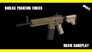 BO2 M27 Reflex Sight Setup!!! Brand New HK416 Gameplay [Roblox Phantom Forces]