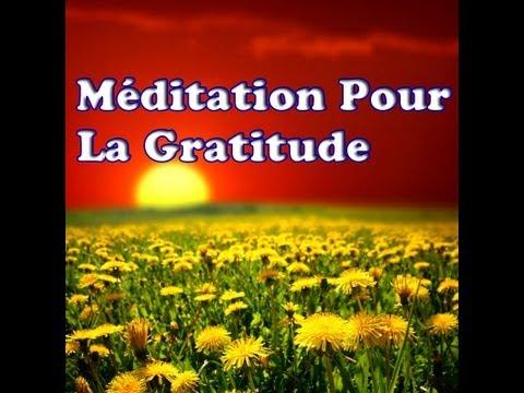 Méditation Pour La Gratitude