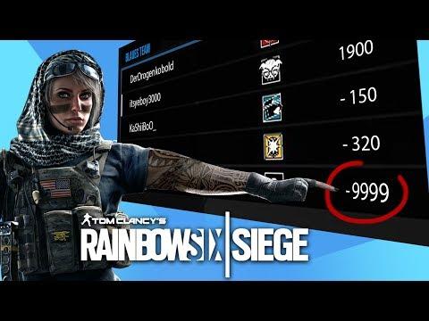 -600 PUNKTE + SPERRE! (Rainbow Six Siege Funny Moments - Deutsch)   Austrian