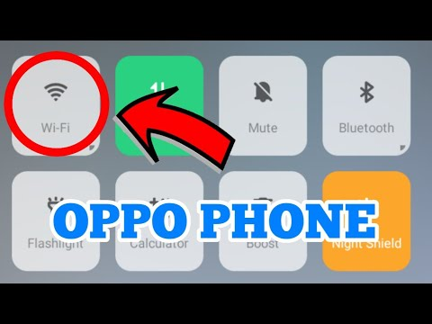 OPPO Phone WIFI Not Working Problem Solved