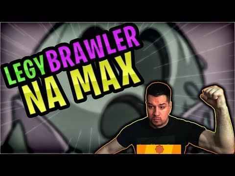 OVAJ LEGY BRAWLER IDE NA MAX! | Brawl Stars