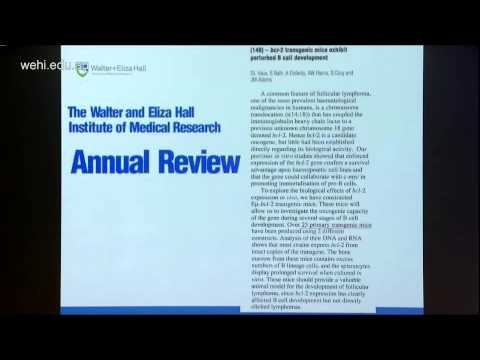 Vaux D (2015): Cell death and cancer research at WEHI - 30 years in 20 minutes