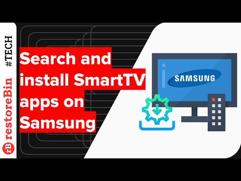 Samsung Smart TV Apps - How to search and download Smart Apps on TV?