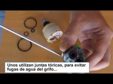 Reparar el cartucho grifo mono mando youtube for Cartucho grifo