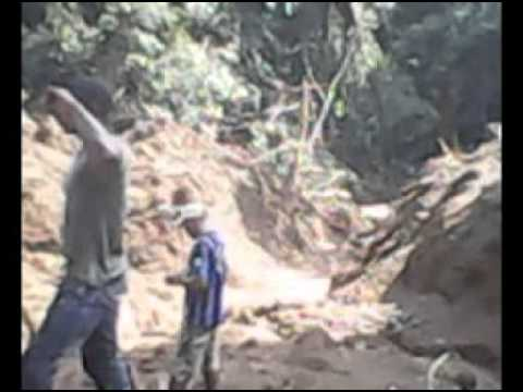 The destruction of the water catchment in Ebanga rain forest - Part 1