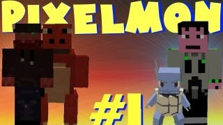 Minecraft Pixelmon LP episode 1. snorlax outside your door!