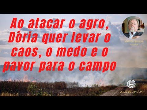 Para quebrar São Paulo de verdade, Doria precisa quebrar o campo!