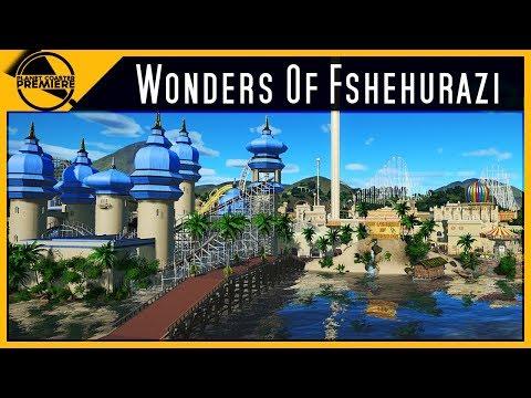 Wonders Of Fshehurazi | Planet Coaster Premiere | 4Kᵁᴴᴰ
