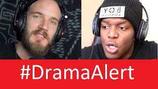 "PewDiePie vs KSI #DramaAlert  ""YouTube Drama"""