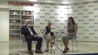 Николай Сванидзе в Читай-Городе - презентация книги