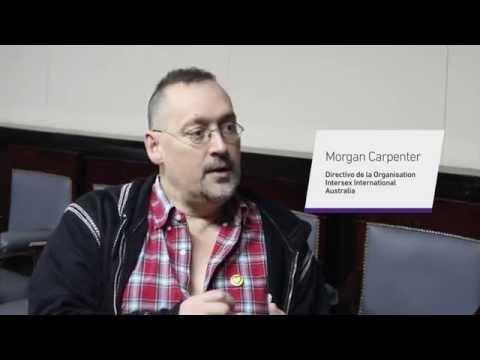 Derechos humanos de personas intersex - Entrevista a Morgan Carpenter en la UBA