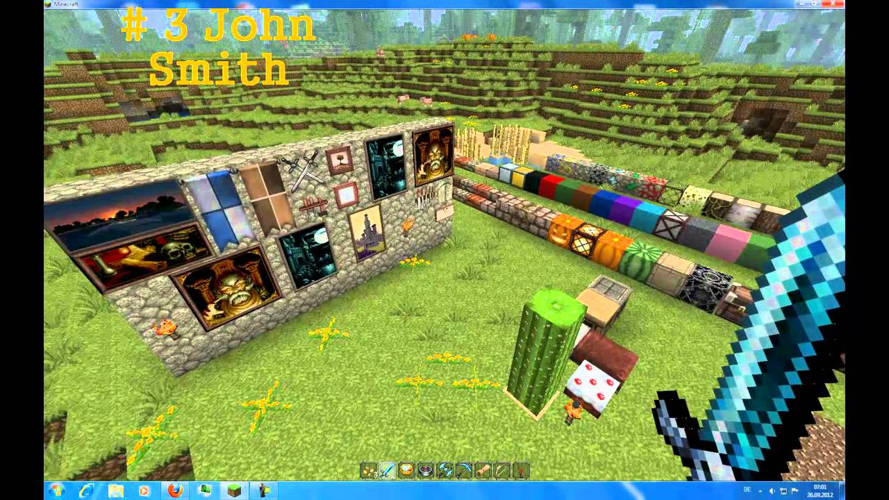 Minecraft Top 10 Texture Packs 1.4.2 Update german - YouTube