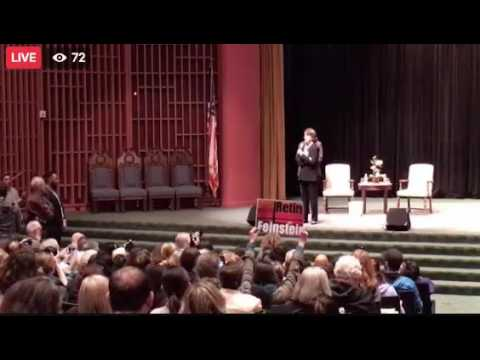 Feinstein Says She is 'Not There' on Single-Payer Health Care System, Crowd Boos