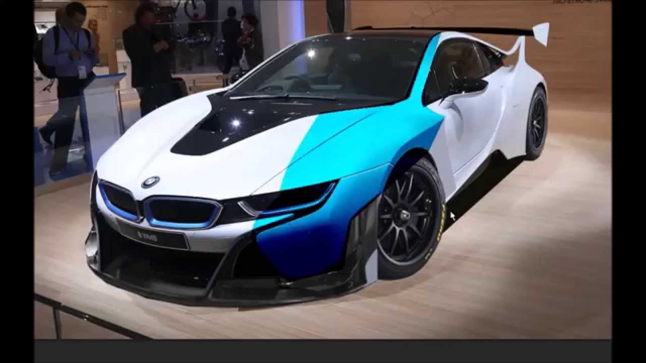 Bmw I8 Gt3 Concept Front Youtube