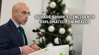 VOX denuncia en Bolivia el silencio del Gobierno y los Medios ante lo ocurrido en México.