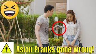 asians pranking funny videos