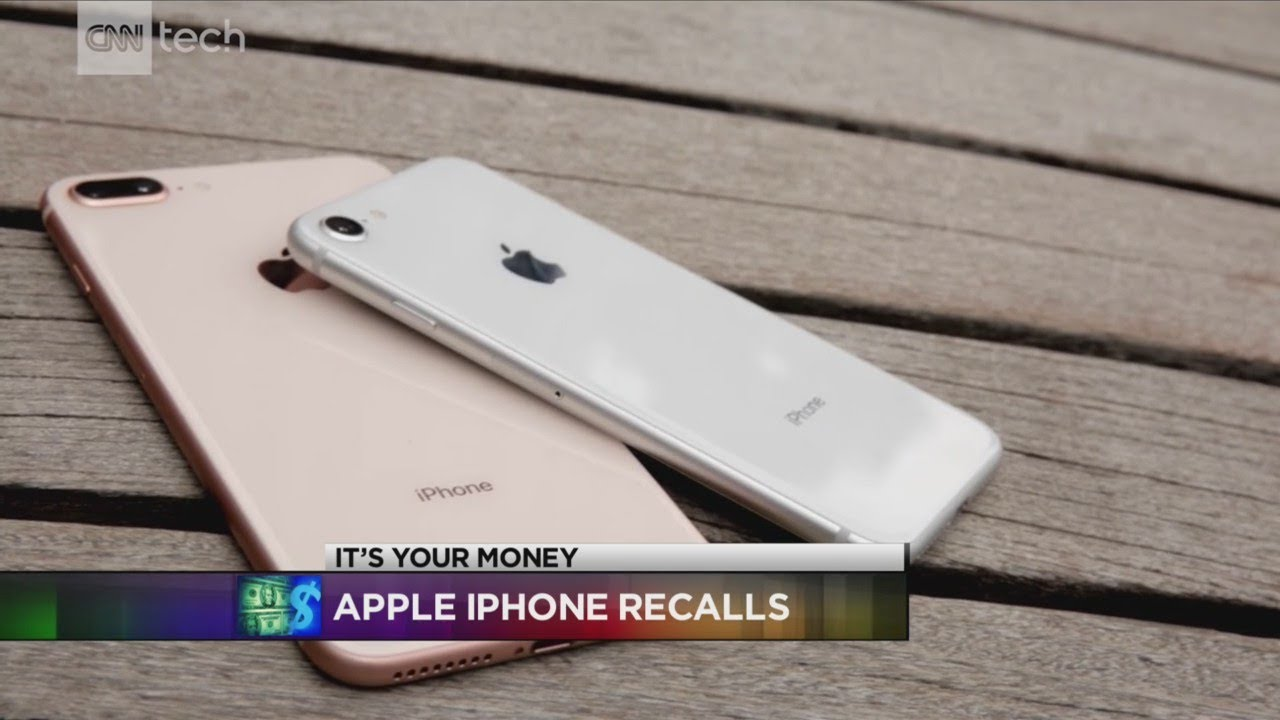 Apple recalling a number of iPhone 8 for manufacturing defect