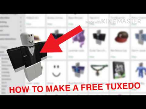 Pink Tuxedo Roblox How To Make A Free Tuxedo In Roblox Youtube