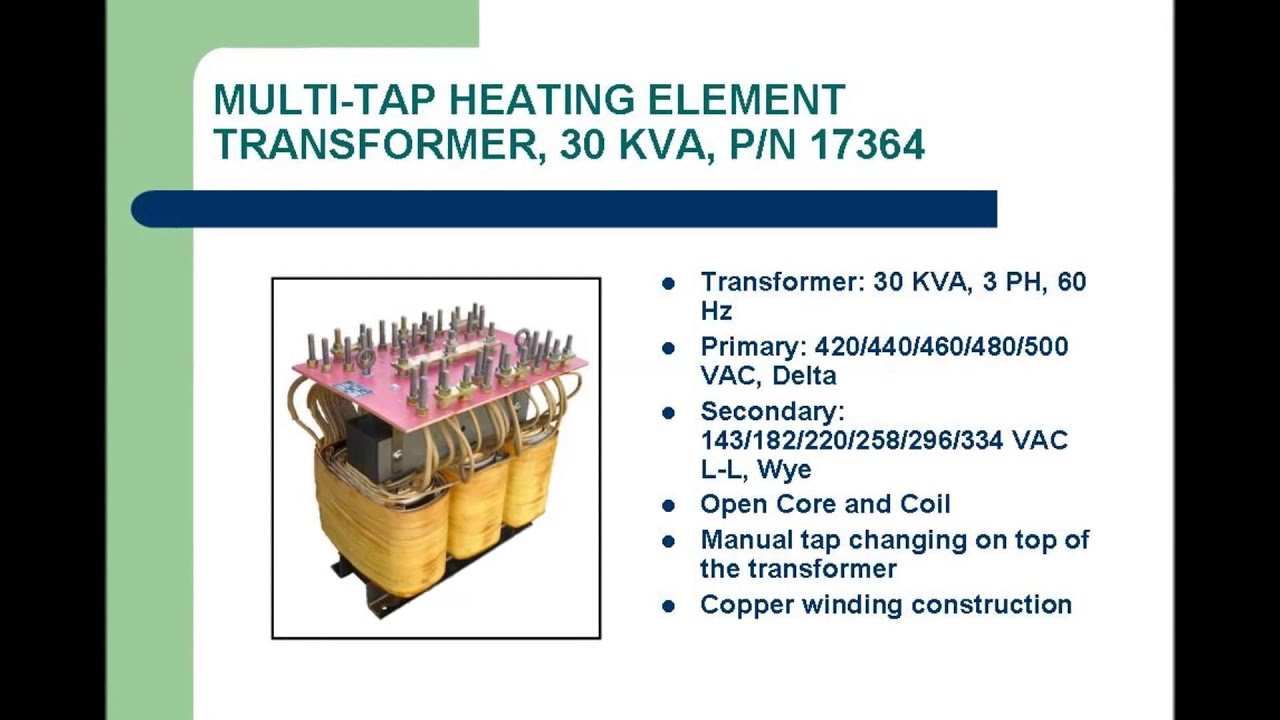 MULTI TAP TRANSFORMER - L/C Magnetics