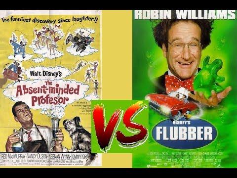 (VS)The Absent-Minded Professor  1961 VS Flubber (1997) Trailer